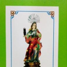 Coleccionismo: ESTAMPA RELIGIOSA SANTA LUZIA. Lote 155702729
