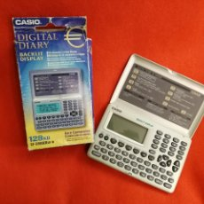 Coleccionismo: CASIO DIGITAL DIARY SF-3900ER SR-W 128 KB.EURO, DIARIO DIGITAL.CALCULADORA EN EURO.. Lote 151718797