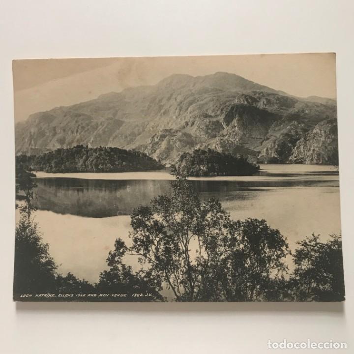 Lago Katrine. Escocia. Gran Bretaña. Reproducción de fotografía 20,2x15,2 cm - 151935898