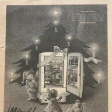 Coleccionismo: 1957 PUBLICIDAD TERMOFRIGIDUS 13,4X18,7 CM. Lote 151954454