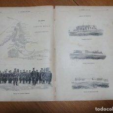 Coleccionismo: LA HORMIGA DE ORO 1893. PLANO Y CAMPO DE MELILLA. Lote 151958286