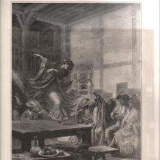 Coleccionismo: DOS LÁMINAS DE HENRI ZO: AVANT LA CORRIDA + BRAVO TORO (LE PANORAMA 1896). Lote 151959046