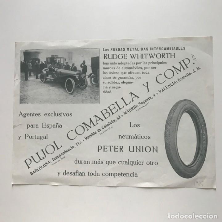 1915 Publicidad Pujol Comabella y Compañía 23,4x17,1 cm - 151964062