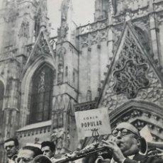 Coleccionismo: 1960 FOTOGRAFÍAS DE BARCELONA 16,5X22,3 CM. Lote 151970482