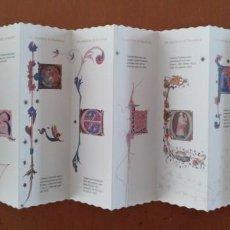 Coleccionismo: PUNTOS DE LIBRO (DIEZ) LES CAPLLETRES DE BARCELONA ARXIU MUNICIPAL EN ACORDEON MARCAPAGINAS. Lote 152114786