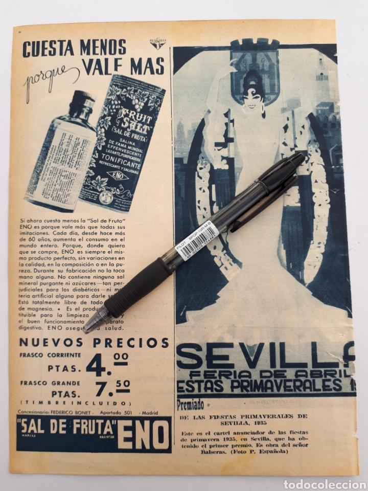 Coleccionismo: Adler 8 hp / Sevilla feria de Abril. 1934 - Foto 2 - 152259114