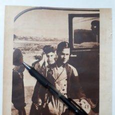 Coleccionismo: LA CORUÑA. REUNIONES CLANDESTINAS / PUBLICIDAD ADLER 8 HP. 1934. Lote 152482121