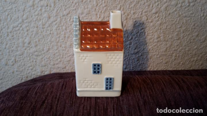 Coleccionismo: casita botella en cerámica de Delfts - Foto 2 - 152506274
