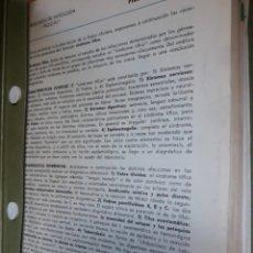 Coleccionismo: RESUMEN DE PATOLOGÍA EN LAMINAS COLECCIONABLES COMPLETO. Lote 152637958