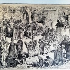 Coleccionismo: LAMINA ESCENA DON QUIJOTE DE LA MANCHA. Lote 152855650
