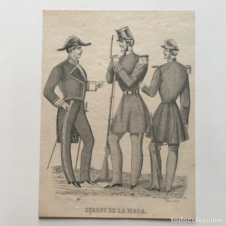 Coleccionismo: 1856 Antigua lámina moda 17,9x24 cm - Foto 2 - 153049230