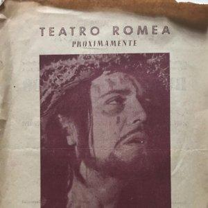 1955 Teatro Romea. Redentor del Mundo 17,4x24,7 cm