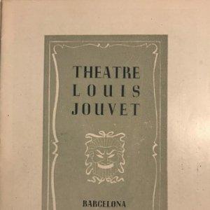 1950 Theatre Louis Jouvet. Barcelona. Primavera 12,2x17,2 cm