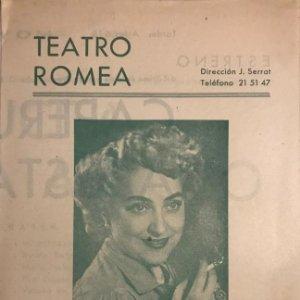 Teatro Romea. Maria Esperanza Navarro. Caperucita asusta al lobo 13,7x21,5 cm