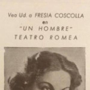 Teatro Romea. Fresia Coscolla en Un hombre 7x11,5 cm
