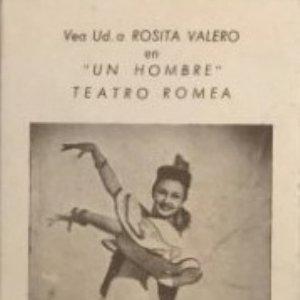 Teatro Romea. Rosita Valero en Un hombre 8x14,2 cm