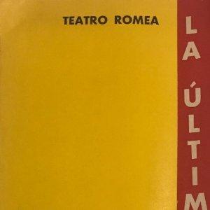 1955 Teatro Romea. La última alegría 10,5x22,7 cm