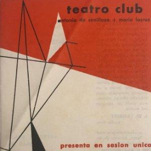 Teatro Romea. Teatro Club 10,8x16,9 cm