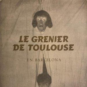 1955 Teatro Romea. Le Grenier de Toulouse en Barcelona 16,8x21,5 cm