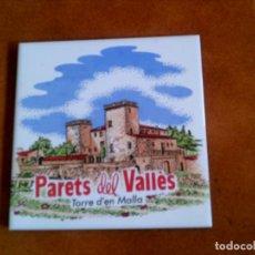 Coleccionismo: RAYOLA DECORADA DE PARETS DEL VALLES MIDE 15 X 15. Lote 153192518
