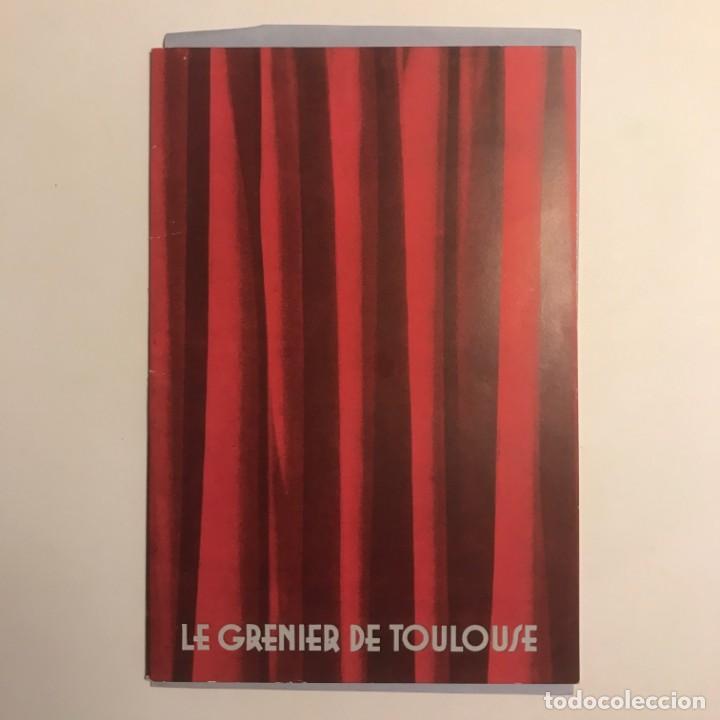 Coleccionismo: 1951 Teatro Romea. Programa de mano. Le Grenier de Toulouse 13,5x20 cm - Foto 2 - 153239698