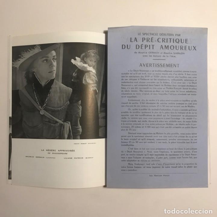 Coleccionismo: 1951 Teatro Romea. Programa de mano. Le Grenier de Toulouse 13,5x20 cm - Foto 4 - 153239698