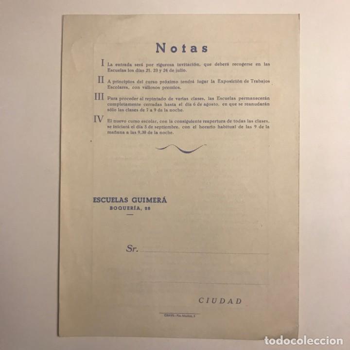 Coleccionismo: 1951 Teatro Romea. Programa de mano. Escuelas Guimerá 16x21,5 cm - Foto 4 - 153265362