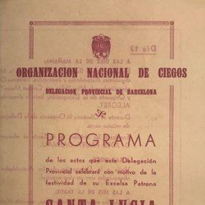1947 Teatro Romea. Programa de mano.Lo más hermoso 11,1x16,4 cm