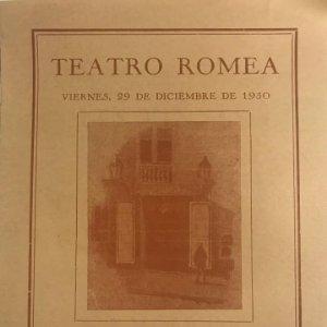 1950 Teatro Romea. Les vinyes del Priorat. Cançó de taverna 14x19,3 cm