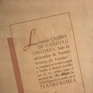 Teatro Romea. Felipe Derblay 12,7x17,1 cm