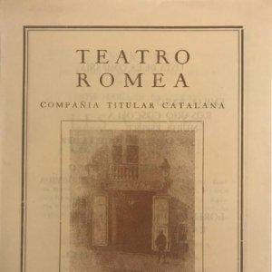 1950 Teatro Romea. Les vinyes del Priorat 14x19,2 cm