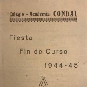 1945 Teatro Romea. Programa de mano. La Cueva de Salamanca. Miguel de Cervantes Saavedra