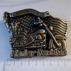 Coleccionismo: HEBILLA HARLEY DAVIDSON. Lote 153375914