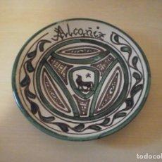 Coleccionismo: PLATO DECORADO - CERÁMICA PUNTER - ALCAÑIZ (TERUEL). Lote 153536886
