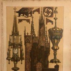 Coleccionismo: EDAD MEDIA. VASOS SAGRADOS Y OTROS OBJETOS DE CULTO DE ALEMANIA EN EL SIGLO XV 22,3X30,3 CM. Lote 153589526