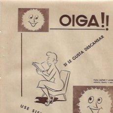 Coleccionismo: AÑO 1955 RECORTE PRENSA PUBLICIDAD DOBISOL DETERGENTE LAVA LIMPIA DESENGRASANTE. Lote 153594074