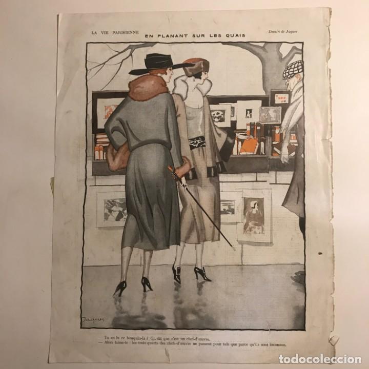 ilustración La Vie Parisienne 26,5x33,5 cm - 153596198