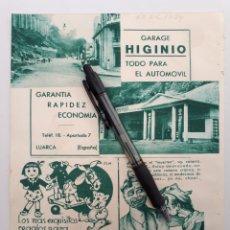 Coleccionismo: HOJA CON PUBLICIDAD PATRIÓTICA (ASTURIAS, MADRID) 1934. Lote 153655121