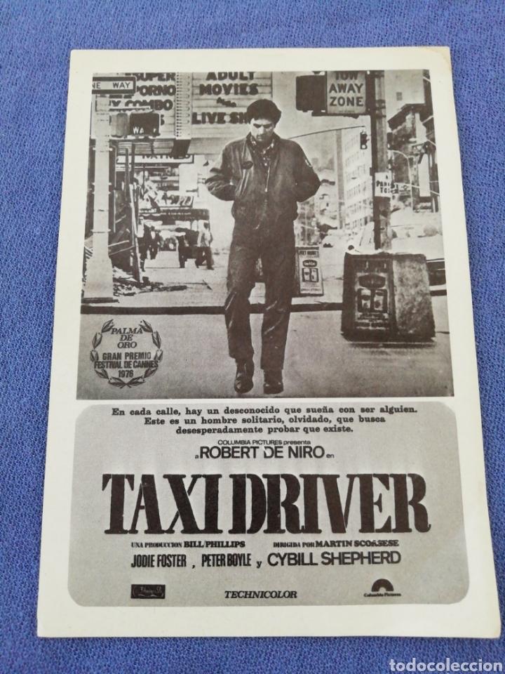 Coleccionismo: Lote Taxi Driver - Foto 2 - 178084925