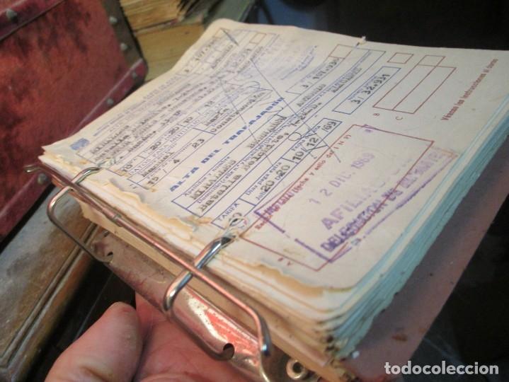 Coleccionismo: LOTE ARCHIVOS REPLETO de RECIBOS ANTIGUOS DOCUMENTOS OBSOLETOS ALICANTE - Foto 4 - 57805143