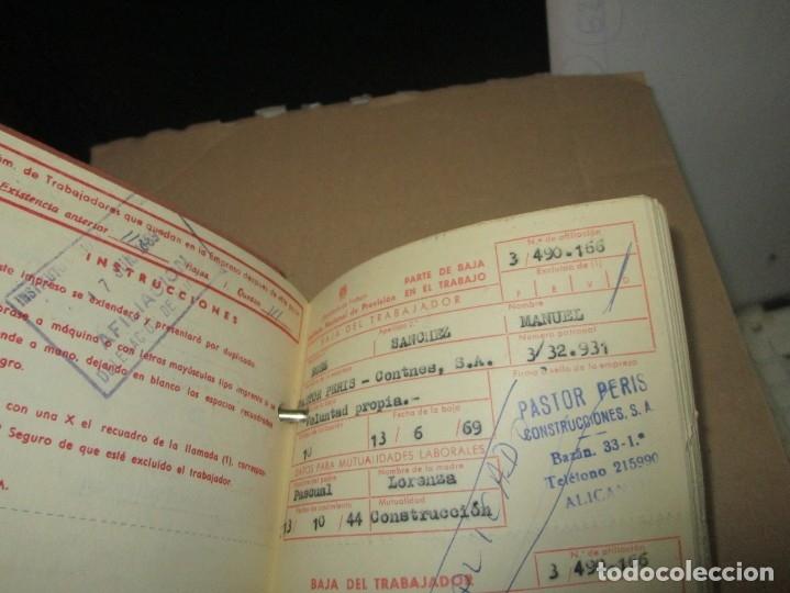 Coleccionismo: LOTE ARCHIVOS REPLETO de RECIBOS ANTIGUOS DOCUMENTOS OBSOLETOS ALICANTE - Foto 10 - 57805143