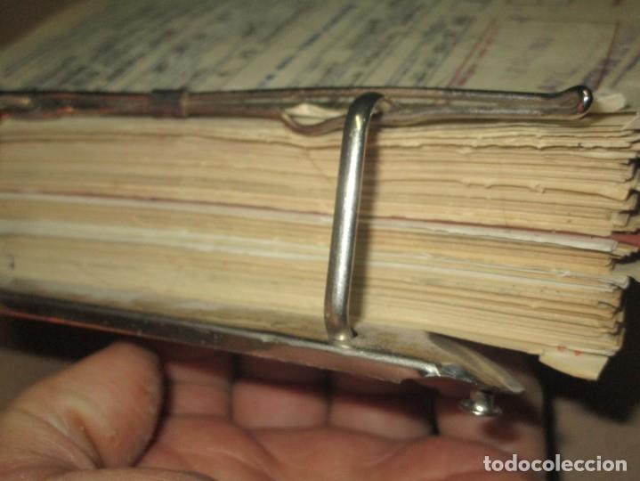 Coleccionismo: LOTE ARCHIVOS REPLETO de RECIBOS ANTIGUOS DOCUMENTOS OBSOLETOS ALICANTE - Foto 3 - 57805143