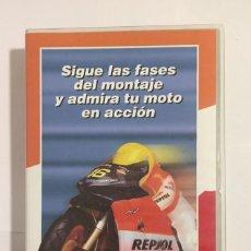 Colecionismo: VHS INSTRUCCIONES MONTAJE CONSTRUYE Y PILOTA HONDA RC 211 V RADIOCONTROL RC211V PLANETA DE AGOSTINI. Lote 154036590