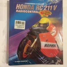 Colecionismo: ARCHIVADOR CONSTRUYE Y PILOTA HONDA RC 211 V RADIOCONTROL RC211V PLANETA DE AGOSTINI. Lote 154037034