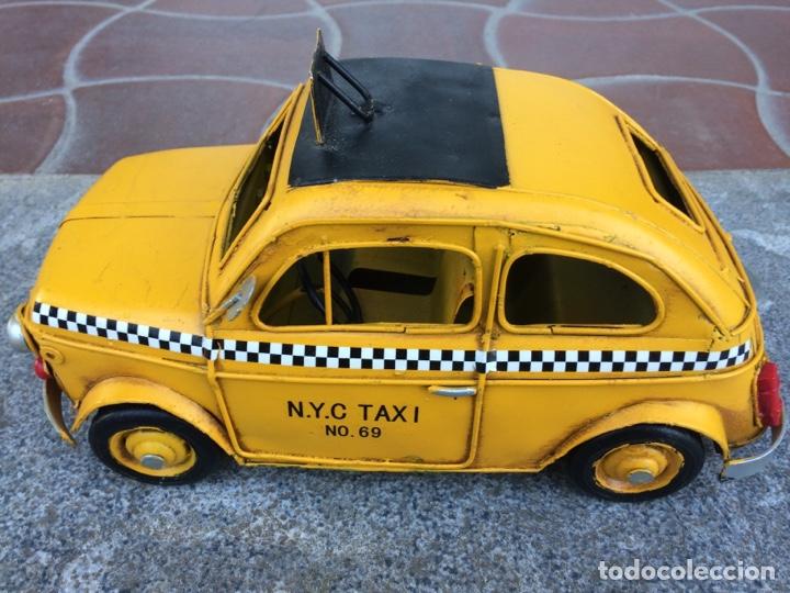 Coleccionismo: Miniatura automóvil taxi Londres metálico - Foto 2 - 154159633