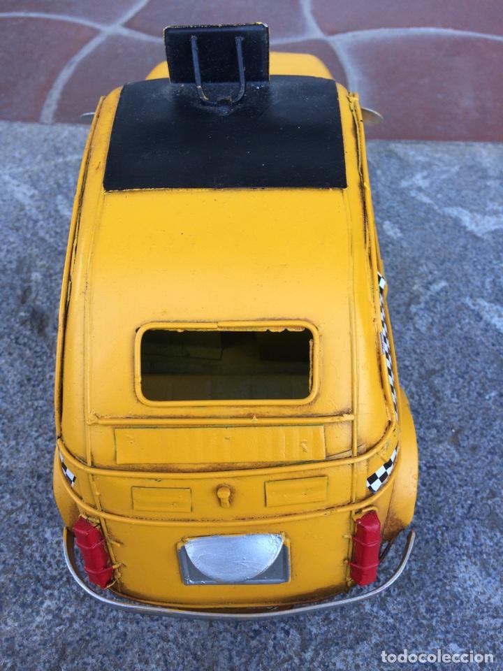 Coleccionismo: Miniatura automóvil taxi Londres metálico - Foto 3 - 154159633