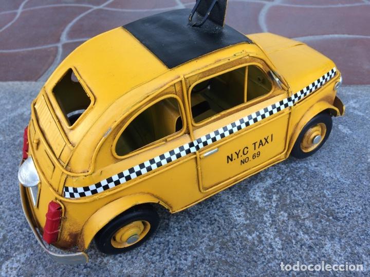 Coleccionismo: Miniatura automóvil taxi Londres metálico - Foto 4 - 154159633