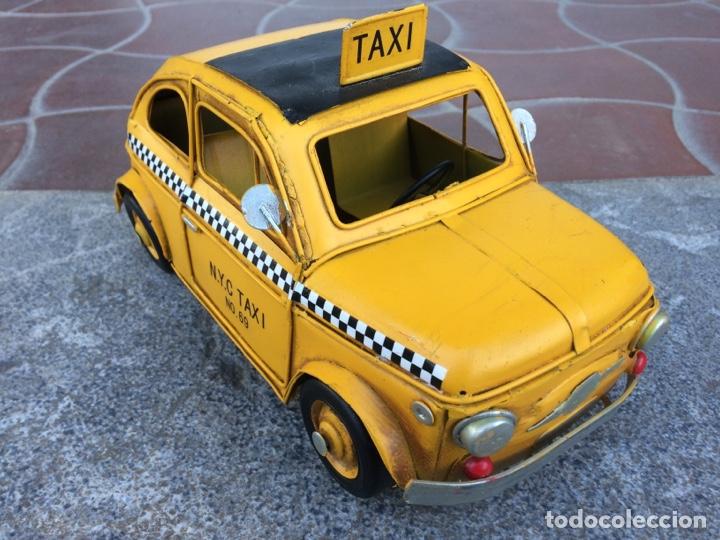 Coleccionismo: Miniatura automóvil taxi Londres metálico - Foto 5 - 154159633
