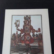 Coleccionismo: LÁMINA DE NICOLÁS DE LÁRMESSIN. RELOJERO. Lote 154208370