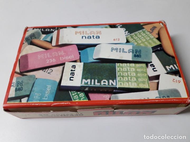 CAJA DE GOMAS MILAN (Coleccionismo - Varios)